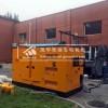 150KW静音柴油发电机组客户现场调试运行